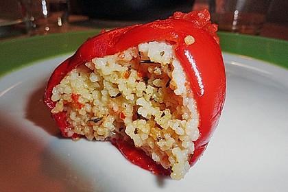 Gefüllte Spitzpaprika mit Couscous 25