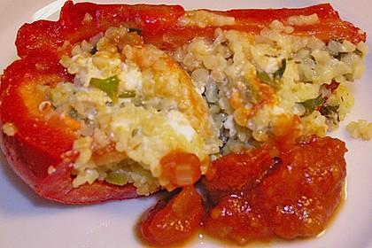 Gefüllte Spitzpaprika mit Couscous 54