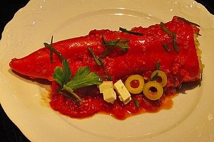 Gefüllte Spitzpaprika mit Couscous 11