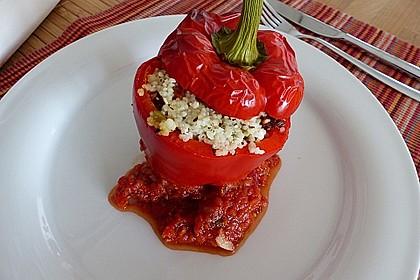 Gefüllte Spitzpaprika mit Couscous 6