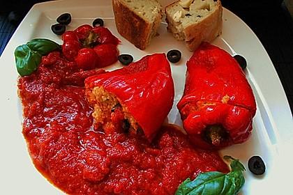 Gefüllte Spitzpaprika mit Couscous 13