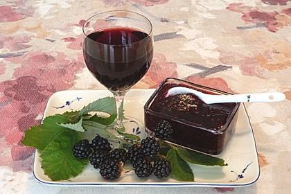 Brombeer - Rotwein - Marmelade