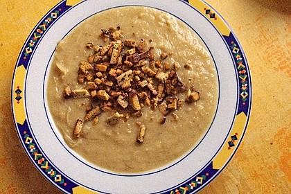 Kartoffel-Sauerkraut Suppe mit Räuchertofu 1