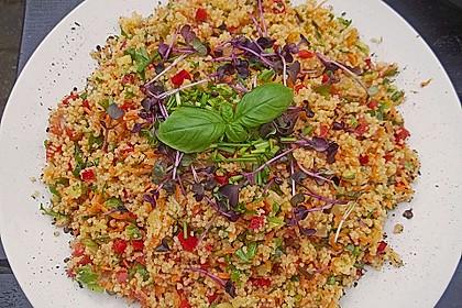 Couscous - Salat mediterran