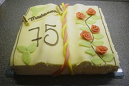 Torte in Buchform 2