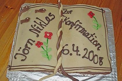 Torte in Buchform 9