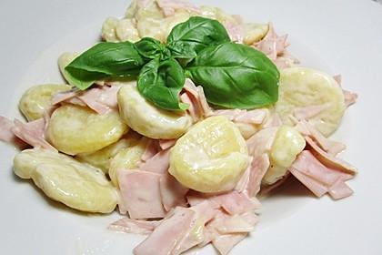 Gnocchi in Käse - Sahne - Soße 2