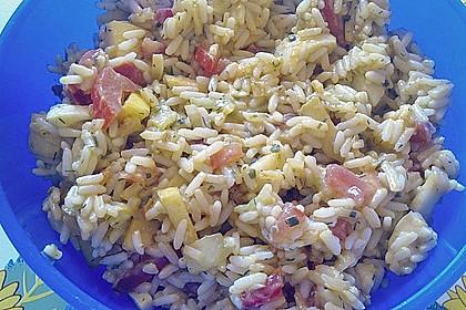 Frischer Reissalat 1