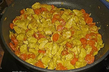 Curry-Geschnetzeltes 8