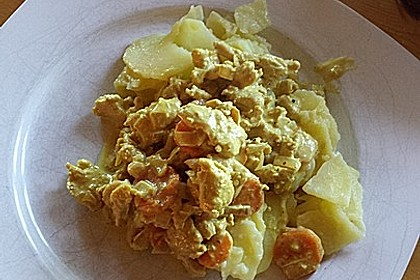 Curry-Geschnetzeltes 6