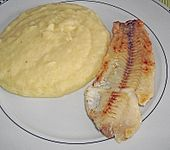 Schollenfilet mit Kohlrabi - Kartoffelpüree (Bild)