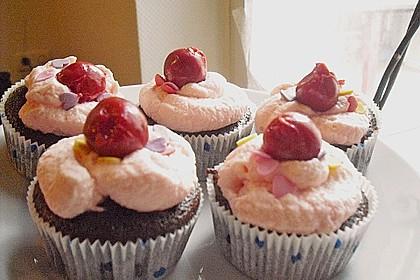 Schwarzwälder Kirsch Cupcakes 204