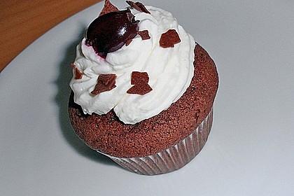 Schwarzwälder Kirsch Cupcakes 89