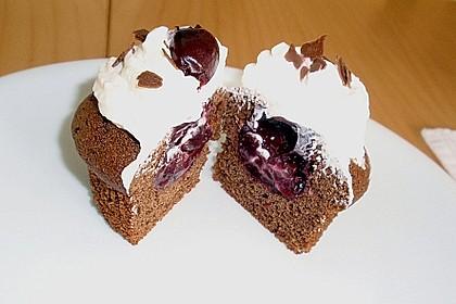 Schwarzwälder Kirsch Cupcakes 146