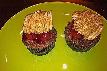 Schwarzwälder Kirsch Cupcakes 211