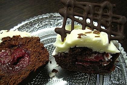 Schwarzwälder Kirsch Cupcakes 153