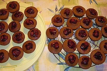 Schwarzwälder Kirsch Cupcakes 202