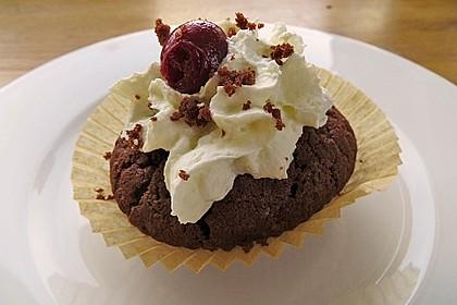 Schwarzwälder Kirsch Cupcakes 174
