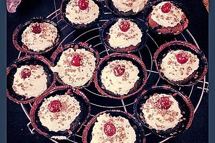 Schwarzwälder Kirsch Cupcakes 196