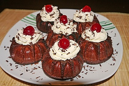 Schwarzwälder Kirsch Cupcakes 79