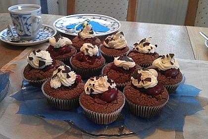 Schwarzwälder Kirsch Cupcakes 179