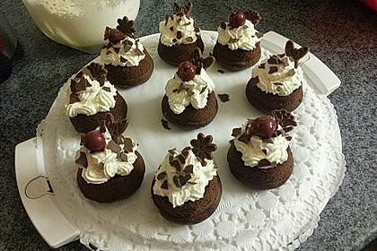 Schwarzwälder Kirsch Cupcakes 184