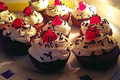 Schwarzwälder Kirsch Cupcakes 182