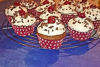 Schwarzwälder Kirsch Cupcakes 161