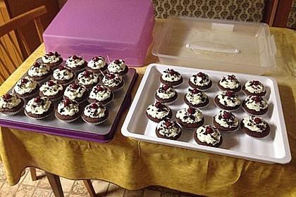 Schwarzwälder Kirsch Cupcakes 169