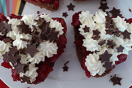 Schwarzwälder Kirsch Cupcakes 175
