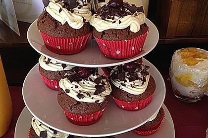Schwarzwälder Kirsch Cupcakes 113