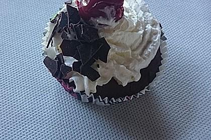 Schwarzwälder Kirsch Cupcakes 156