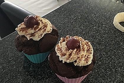 Schwarzwälder Kirsch Cupcakes 201