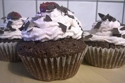 Schwarzwälder Kirsch Cupcakes 131