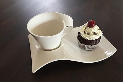 Schwarzwälder Kirsch Cupcakes 57