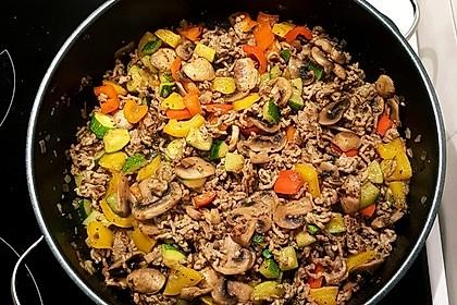 Hackfleisch - Gemüse - Pfanne 32