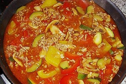 Hackfleisch - Gemüse - Pfanne 28
