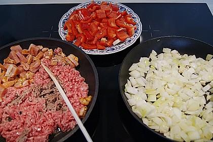 Hackfleisch - Gemüse - Pfanne 37