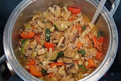 Hackfleisch - Gemüse - Pfanne 25