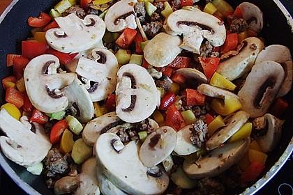 Hackfleisch - Gemüse - Pfanne 26