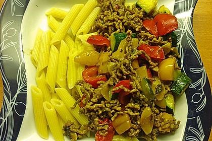 Hackfleisch - Gemüse - Pfanne 14