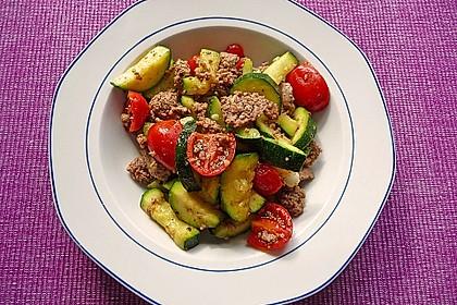 Hackfleisch - Gemüse - Pfanne 4