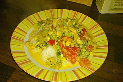Paprika - Brokkoli - Hähnchen 2