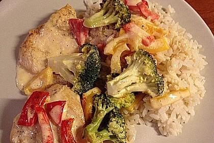 Paprika - Brokkoli - Hähnchen 0