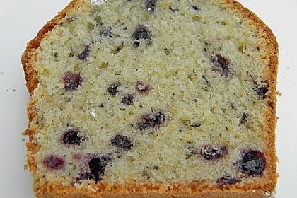 Kokos - Heidelbeer - Kuchen 2