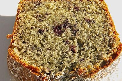 Kokos - Heidelbeer - Kuchen 1