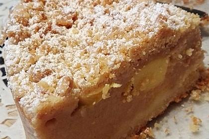 Kuchen Mit Apfelmus Und Pudding