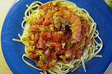 Garnelen - Bolognese - Spaghetti