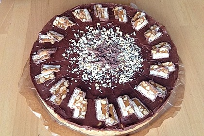 Snickers - Torte ohne Backen