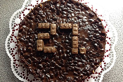 Snickers - Torte ohne Backen 2